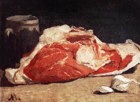 Still Life, the Joint of Meat 1864