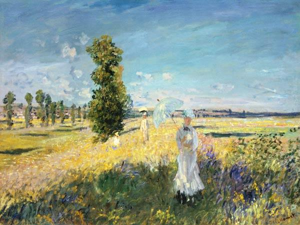 Monet, Claude : The Walk (Argenteuil)