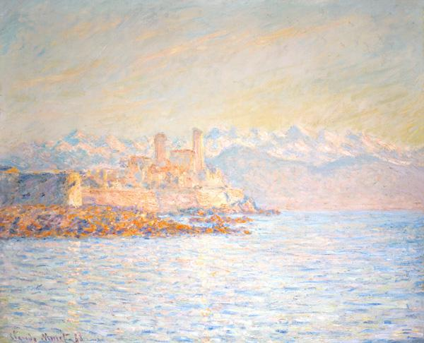 The old away at Antibes (also one: Antibes in the in the afternoon light) 1888
