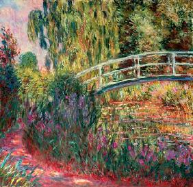 The Japanese Bridge Giverny 1900
