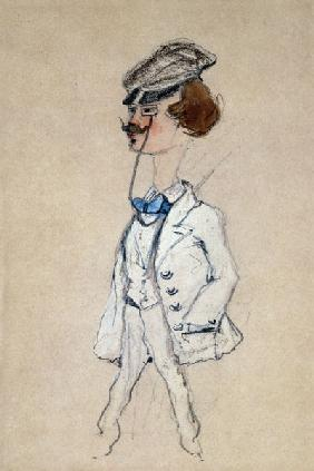 Monet, Claude : Young Man with a Monocle