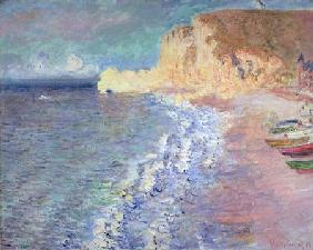 Monet, Claude : Morning at Etretat