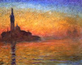 Sunset in Venice 1908