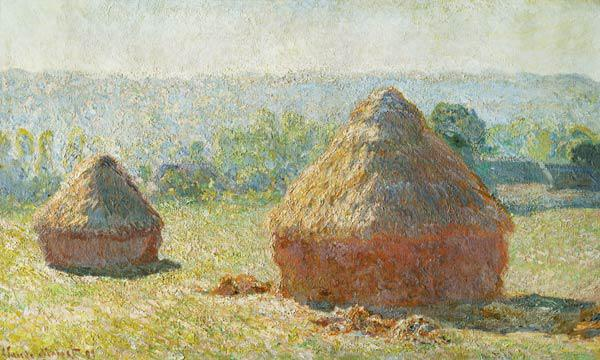 Monet, Claude : Haystacks, End of Summer