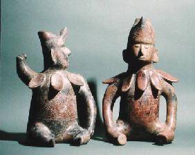 Two Statuettes from Colima, Mexico