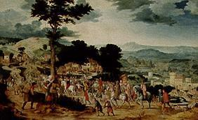 Massys, Cornelis : The walk to Golgatha.