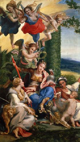 Allegory of the Virtues