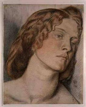 Fanny Cornforth, Study for 'Fair Rosamund'