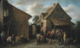 The Yard of an Inn