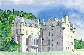 Castle Menzies, 1995 (w/c)