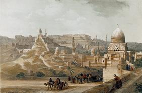 The Citadel of Cairo, from Egypt and Nubia, Vol.3 (litho)