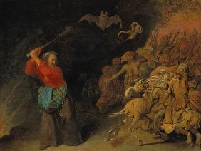 Ryckaert III., David : The witch