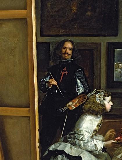 Las Meninas or The Family of Philip IV, - Diego Rodriguez ...