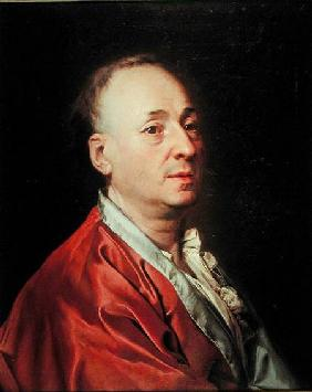 Portrait of Denis Diderot (1715-84)