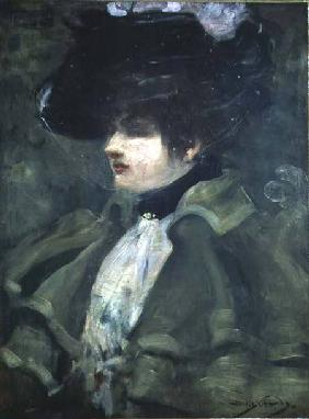 Portrait of Sarah Bernhardt (1844-1923)