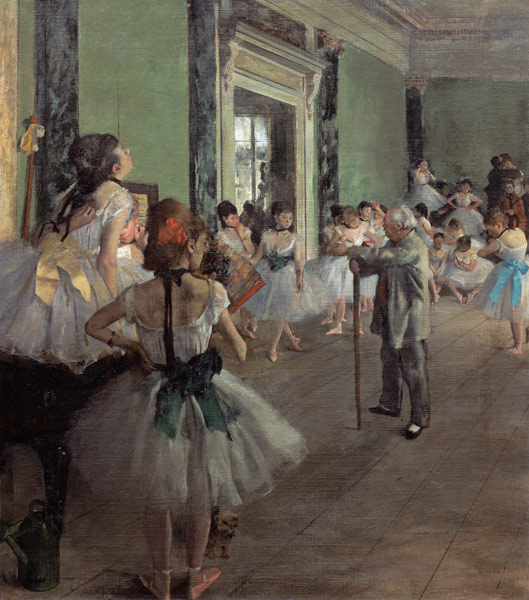 painting paper ballet school by edgar The painting uses oil paint applied to paper  he was fascinated by ballet,  primary teachers' notes open daily 10am.
