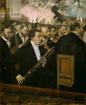 The orchestra of the opera
