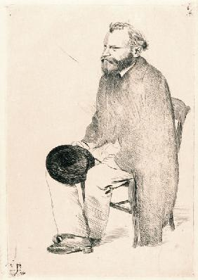 Portrait of the artist Édouard Manet (1832-1883)