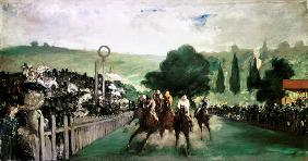 Racing at Longchamps