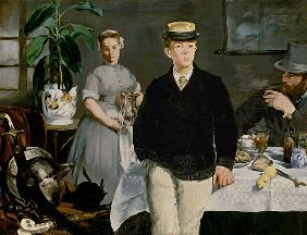 Manet, Edouard : Luncheon in the Studio