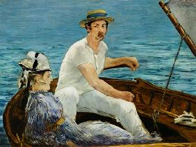 Manet, Edouard : The boat game