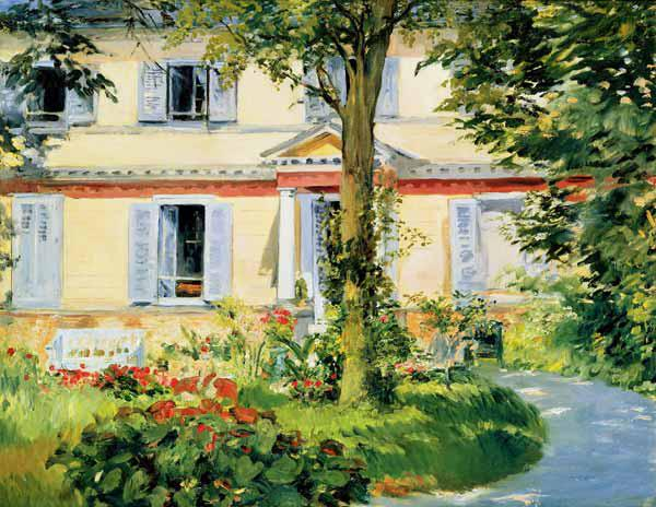Manet, Edouard : House in Rueil