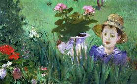 Boy in Flowers (Jacques Hoschedé)