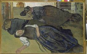 Sleeping women