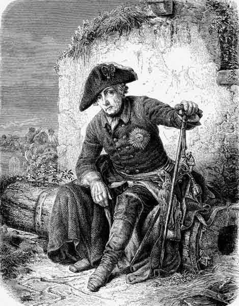 Frederick the Great (From the Illustrirte Zeitung)