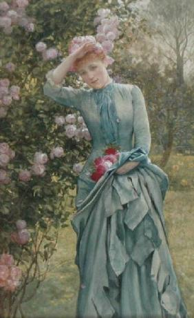 Johnson, Edward Killingsworth : Gathering Roses