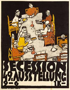 Schiele, Egon : Poster for the 19th secess...