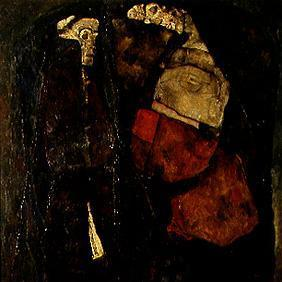Schiele, Egon : Pregnant woman and death.