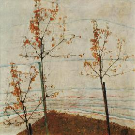Autumn trees 1911