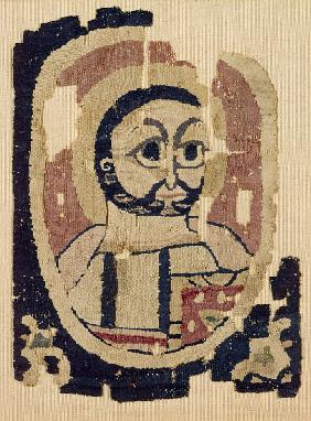 Fragment of a Head, Coptic
