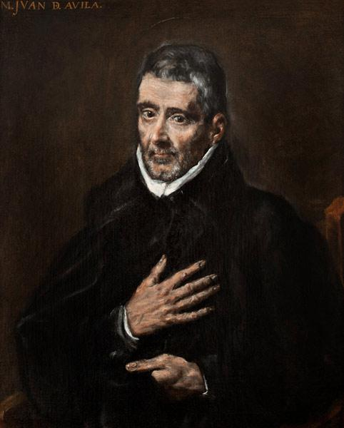 Portrait of Juan de Ávila