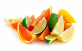 Citrus wedges