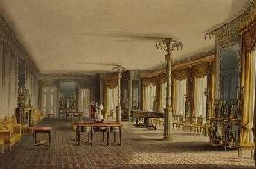 The North Drawing Room, or Music Room Gallery from 'Views of The Royal Pavilion