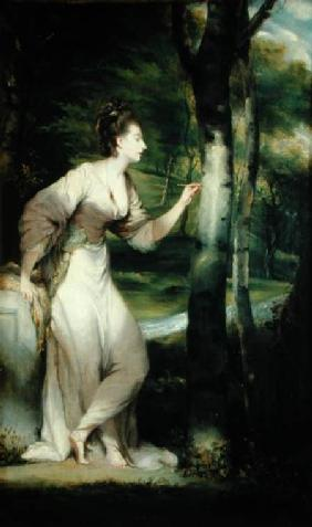 Portrait of Joanna Lloyd of Maryland or his studio