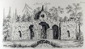 Rural Grotto, from 'Grotesque Architecture or Rural Amusement', by William Wright