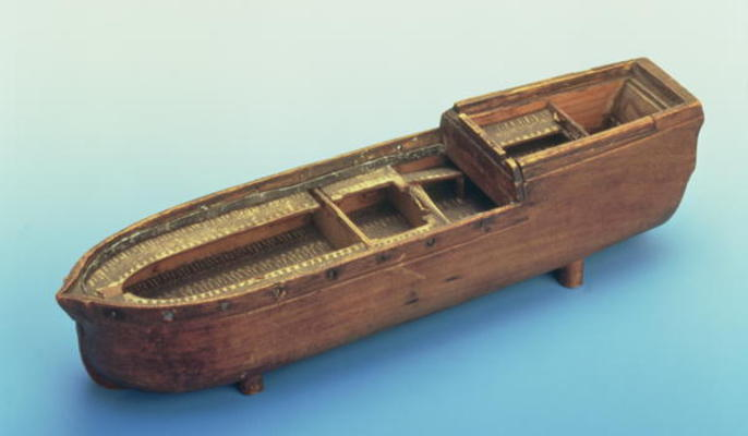 Model Of The Slave Ship Brookes Used B English School