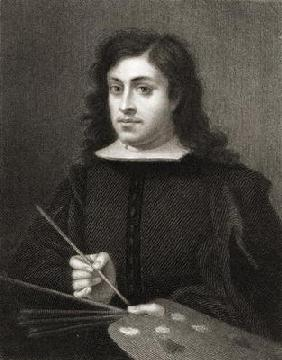 Bartolome Esteban Murillo (c.1618-82) from 'The Gallery of Portraits', published in 1833 (engraving)