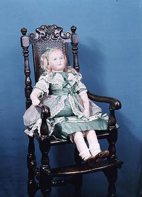 Doll, probably made by Charles Marsh, 1865 (wax)