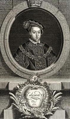 Edward VI (1537-53) King of England and Ireland, from 'The Gallery of Portraits', published 1833 (en