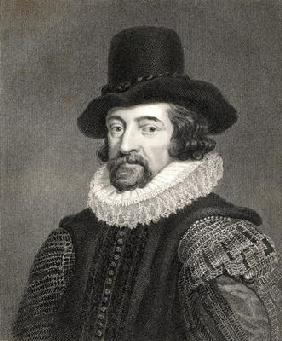 Francis Bacon, 1st Baronet (1561-1626) from 'Gallery of Portraits', published in 1833 (engraving)