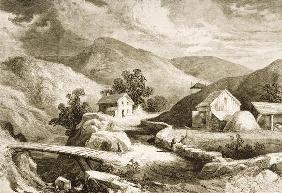 Hills of New England, c.1870, from 'American Pictures', published by The Religious Tract Society, 18