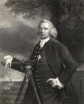 James Brindley (1716-72) from 'Gallery of Portraits', published in 1833 (engraving)