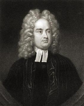 Jonathan Swift (1667-1745), from 'The Gallery of Portraits', published 1833 (engraving)