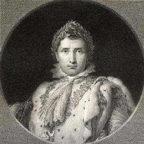 Napoleon Bonaparte (1769-1821) (Emperor of France) from 'The Gallery of Portraits', published 1833 (