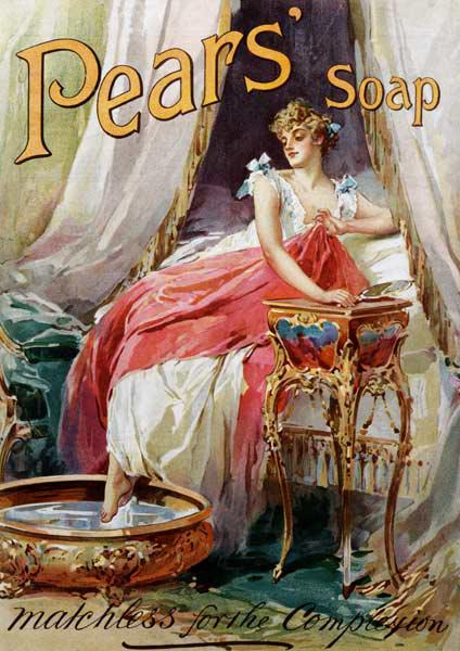 Advertisement for 'Pears' Soap'