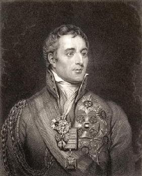 Portrait of Arthur Wellesley, 1st Duke of Wellington (1769-1852) (engraving)